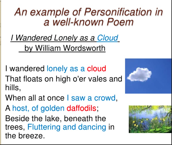 Personification - École Westridge Library Learning Commons